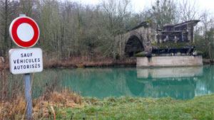 Vestige de la ligne stratégique à Sassey-sur-Meuse