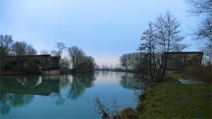 Vestige du pont des 60m à Sassey sur Meuse